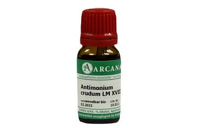 Antimonium crudum