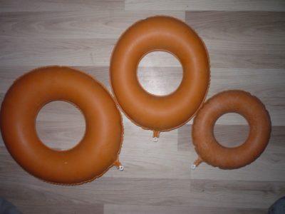 Надувные круги - подушки