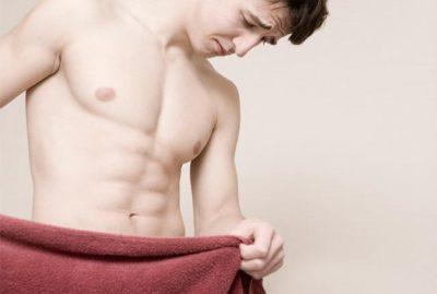 Мужчина с полотенцем