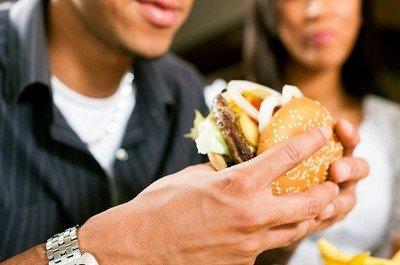 Неправильный рацион питания