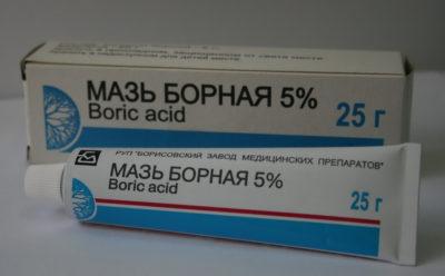 Мазь борная 5%
