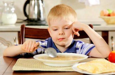 Плохое питание ребенка