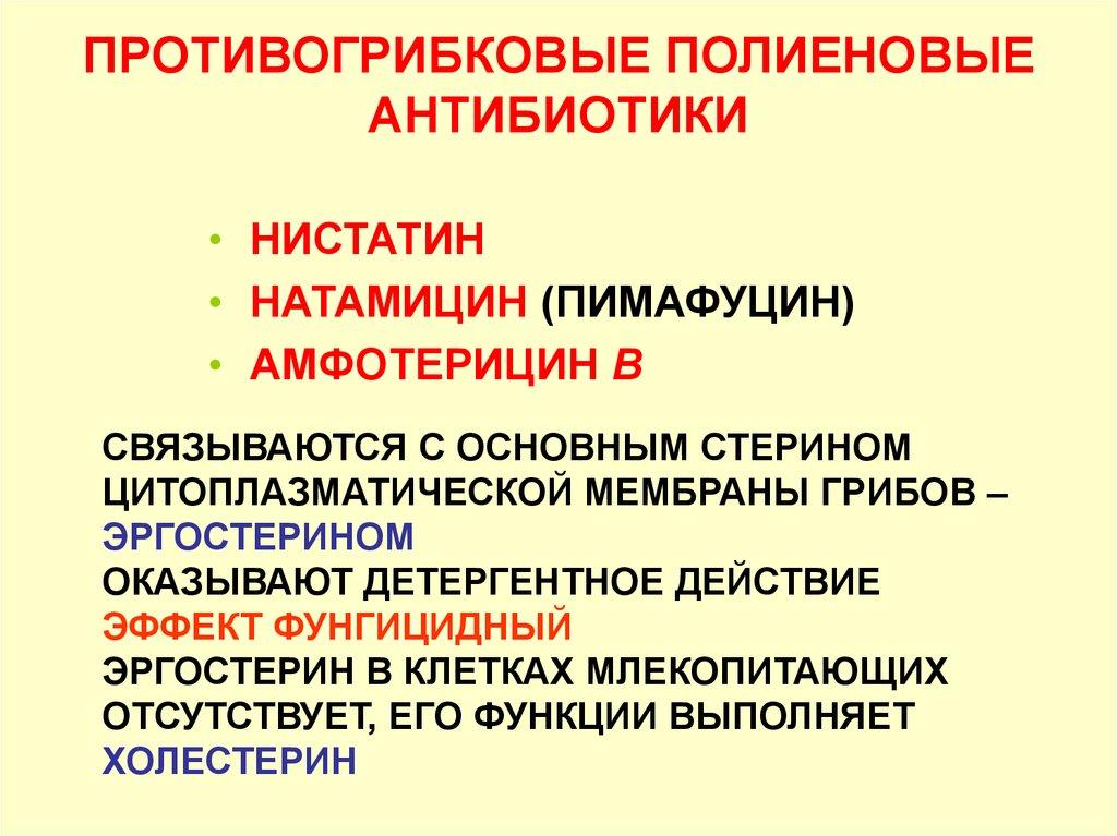 Полиеновые антибиотики
