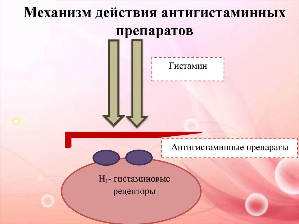 Механизм действия антигистаминных препаратов