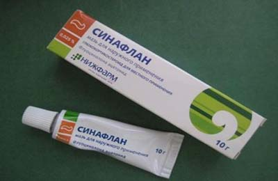 Образец препарата - Синафлан