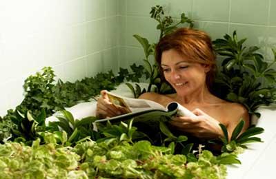 Прием лечебных ванн
