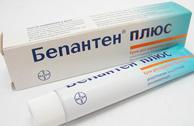 Бепантен безопасное средство при псориазе