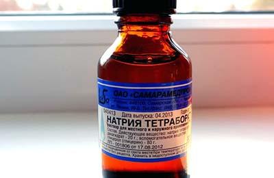 Натрия тераборат