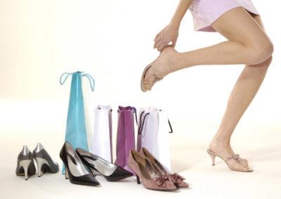 Проблема с подбором обуви
