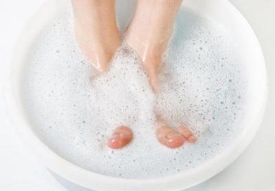 Ванночка с мылом и содой