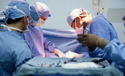 Операция по пересадке кожи
