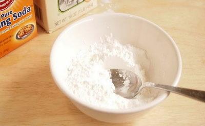 Сода и крахмал