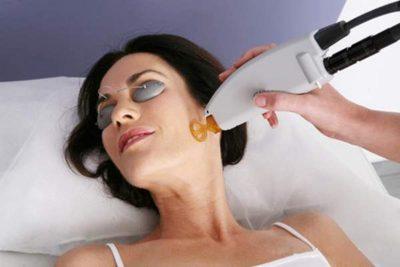 Лечение участков кожи