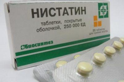 Нистатин от перхоти на голове как использовать
