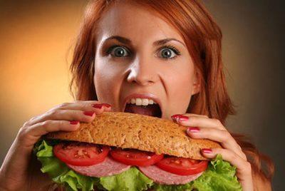 Неправильное питание при лактации