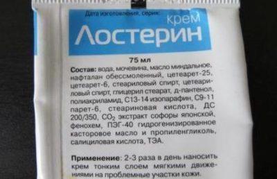 Состав крема Лостерин