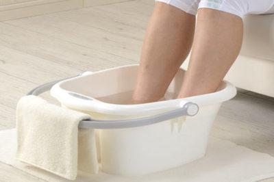 Ванночка с уксусом